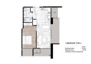 1 Bedroom Type L