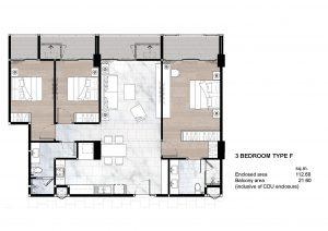3 Bedroom Type F
