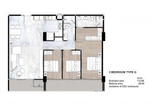 3 Bedroom Type G