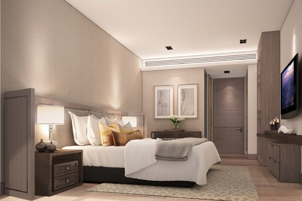 C. 1 BR unit type_Bedroom