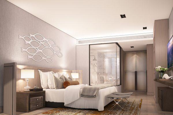 F. 2 BR unit type_Bedroom